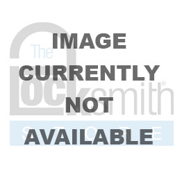 American A1307 Orange Solid Aluminum Padlock