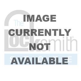 American A1107 Black Solid Aluminum Padlock